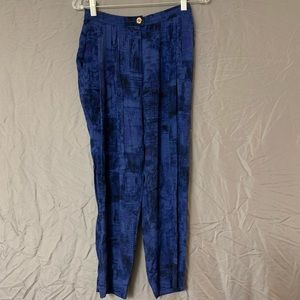 Vintage Platinum by Dorothy Schoelen Blue Trousers